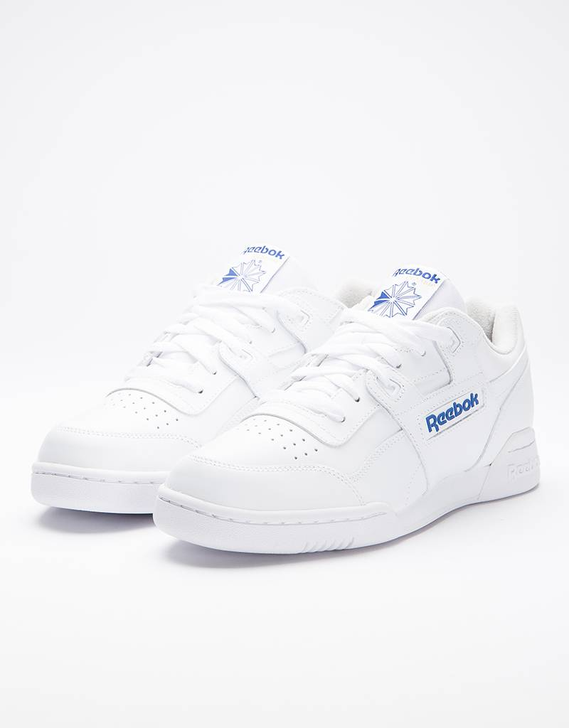 Reebok WORKOUT PLUS WHT/ROYAL
