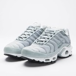 Nike women's air max plus premium light pumice/light pumice-black-white