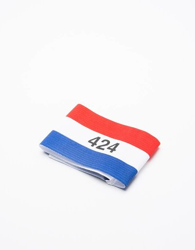 Hummel X 424 Football Captain Armband White Red Blue
