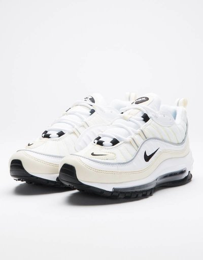 Nike Women's Air Max 98 white/black-fossil-reflect silver