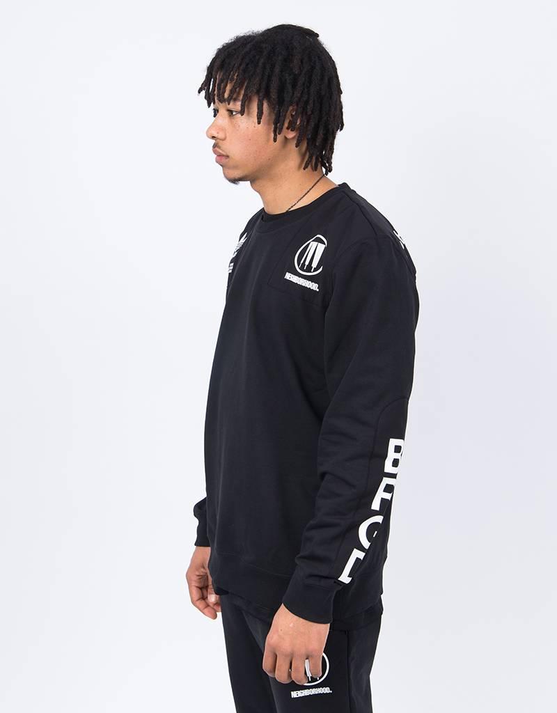 Adidas Neighbourhood Commander Sweatshirt Black