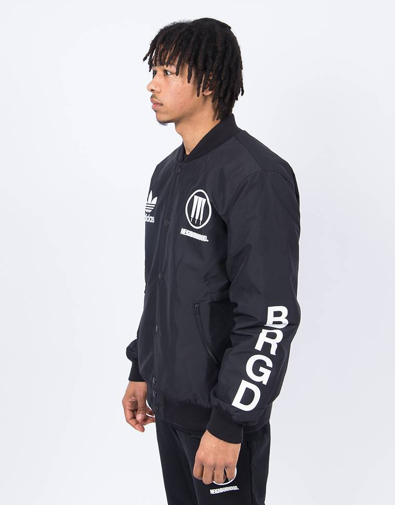 Adidas Neighbourhood Stadium Jacket Black