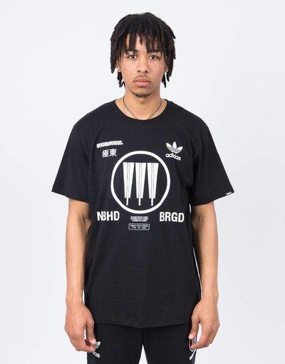 Adidas Neighbourhood Logo Tee Black