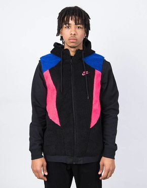 Nike Nike Reversed Hood Gillet Black/Hyper Blue/Dynamic Pink
