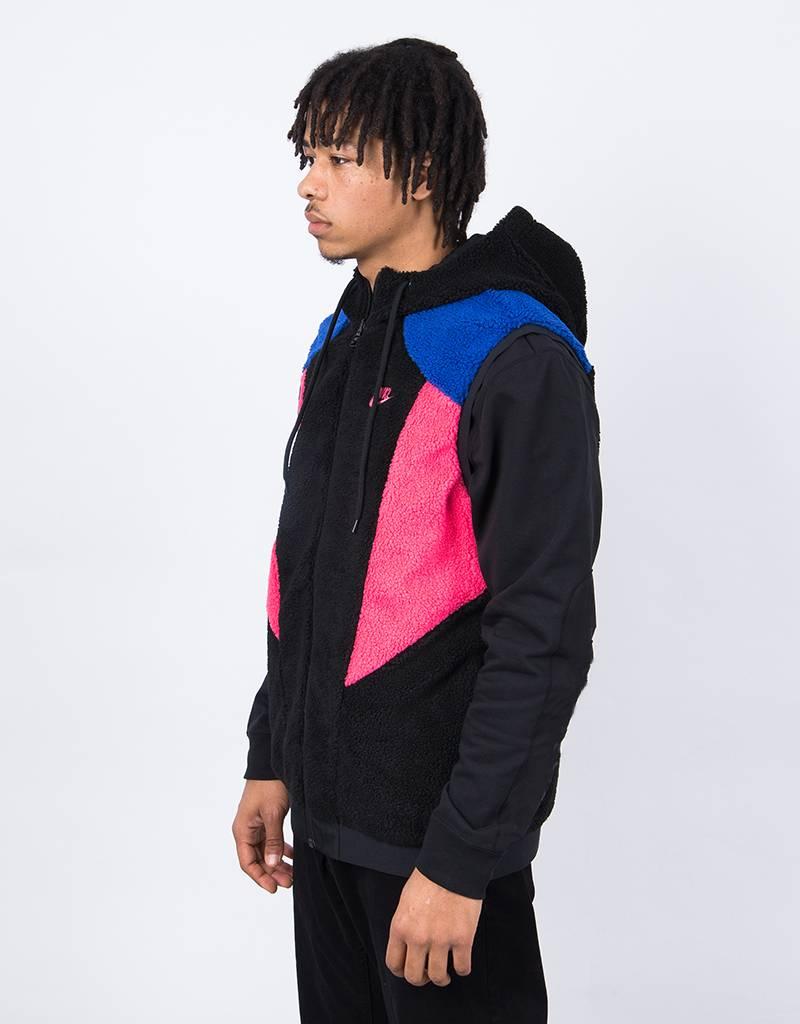 Nike Reversed Hood Gillet Black/Hyper Blue/Dynamic Pink