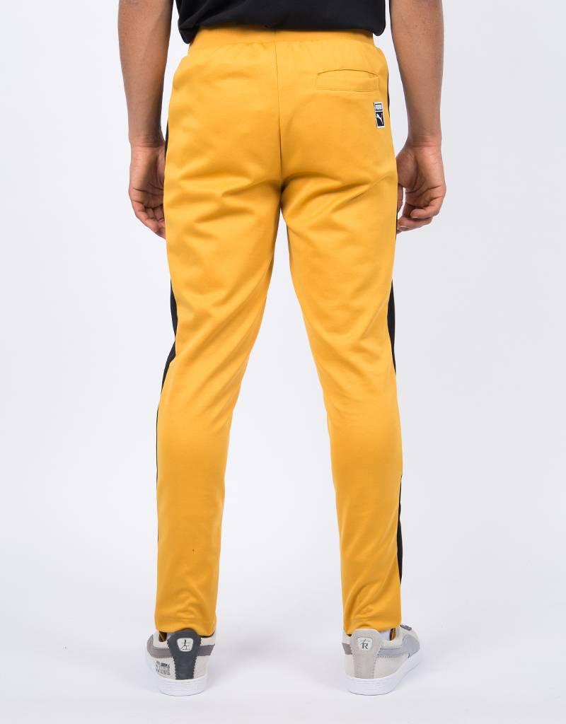 Puma T7 Vintage Track Pants / Mineral Yellow Black