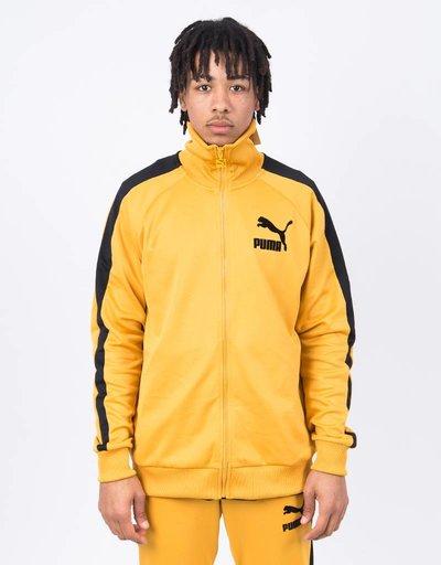 Puma T7 Vintage Track Jacket / Mineral Yellow Black