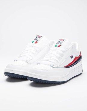 Fila Fila T1 Mid White/Fila Navy/Fila Red