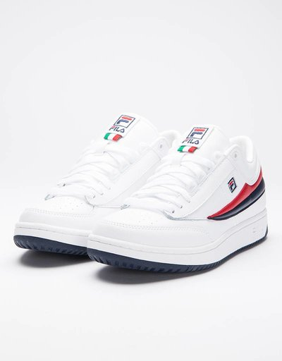 Fila T1 Mid White/Fila Navy/Fila Red
