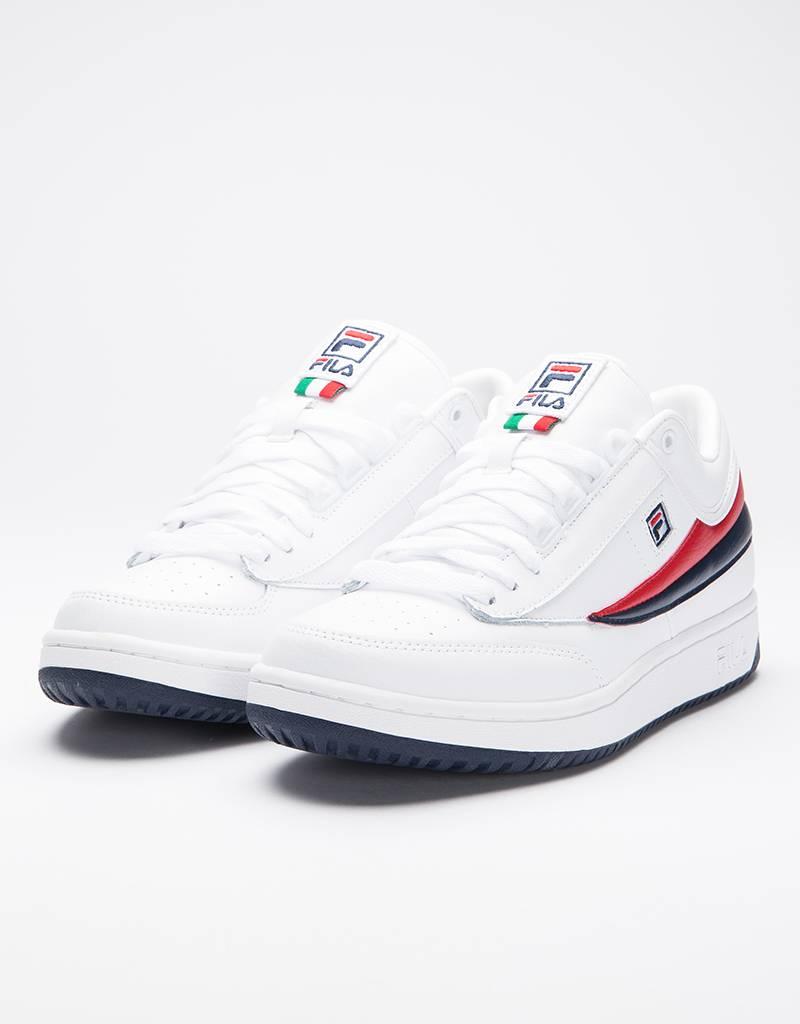 Fila T1 Mid White/Fila Navy/Fila Red