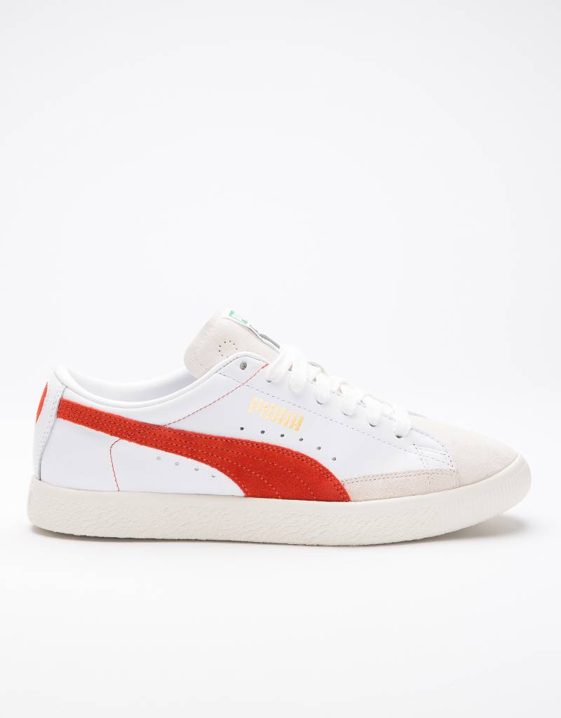 Puma Basket 90680 White-Orange
