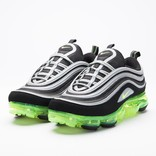 Nike Air VaporMax 97 Black/Volt-Metallic Silver-White