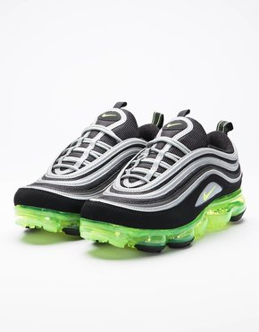 Nike Nike Air VaporMax 97 Black/Volt-Metallic Silver-White