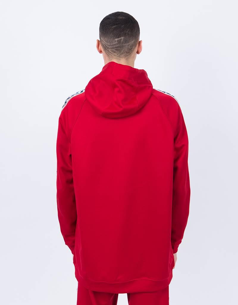 Nike taped Half-Zip Hoodie Gym Red/Sail