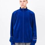 NEIGE Velour Sweatshirt Blue