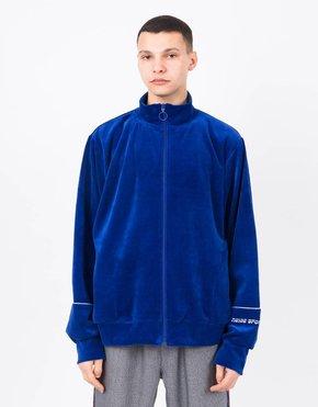 NEIGE NEIGE Velour Sweatshirt Blue