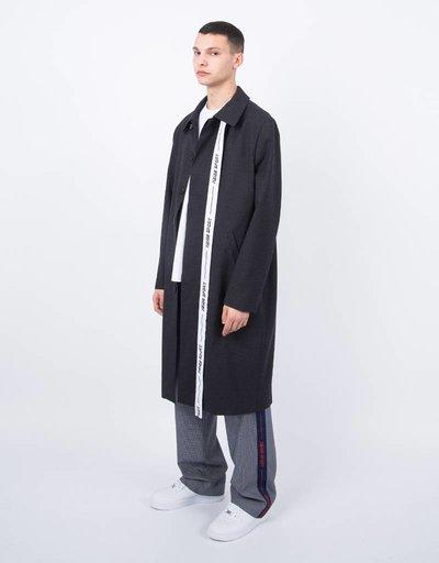 NEIGE  Belted Light Coat Black