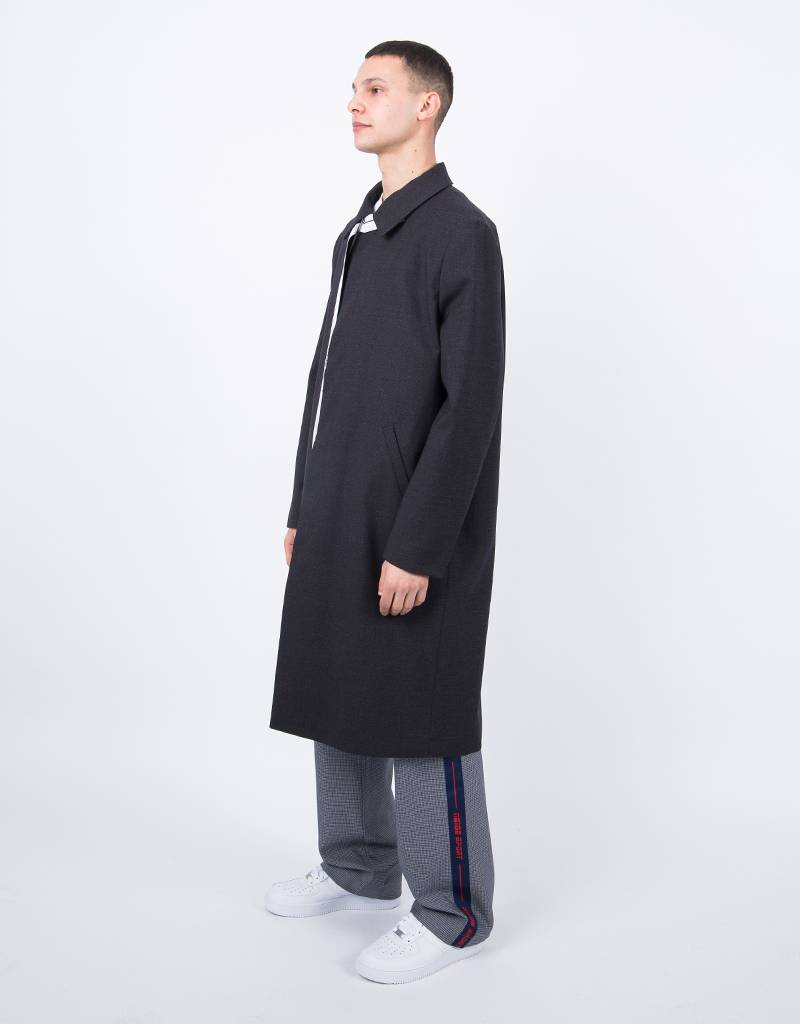 NEIGE  Belted Light Coat Black