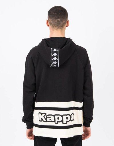 Kappa Kontroll Hoody Jacket Black Beige It Sand