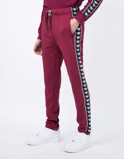 Kappa Kontroll Slim Pants Red Rododendro