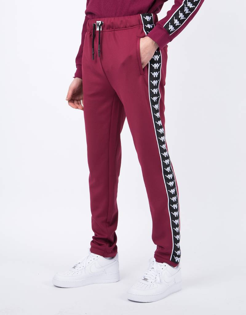 Kappa Kontroll Slim Pants Red Rododendro