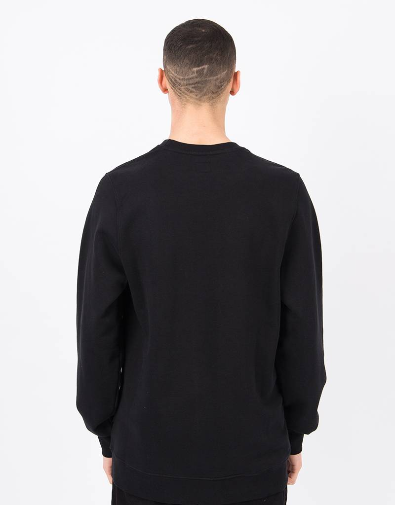 Ceizer Oh Yes embroided crewneck Black