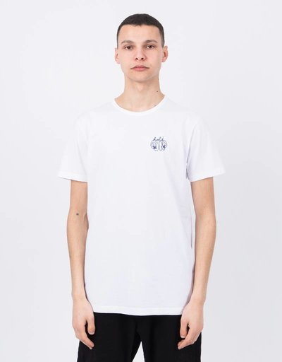 Ceizer Hold On Embroidery T-Shirt White