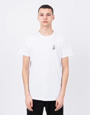 Ceizer Ceizer Peace Embroidery T-Shirt White
