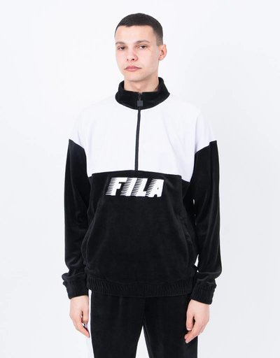 Fila Easton Velour Half Zip Sweat