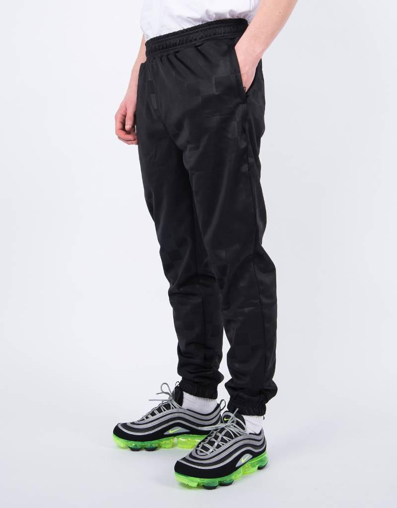 Patta Checkered Warm Up Jogger Black