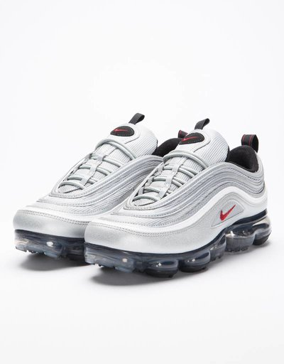 Nike Air Vapormax'97 Mettalic Silver/Varsity Red-White Black