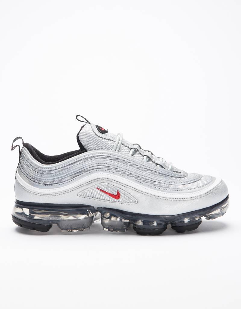 Nike Air Vapormax'97 Mettalic Silver/Varsity Red-White Black