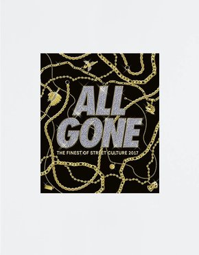 All Gone ALL GONE 2017 book Black