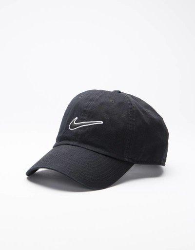 Nike Heritage air essential swoosh cap Black/black