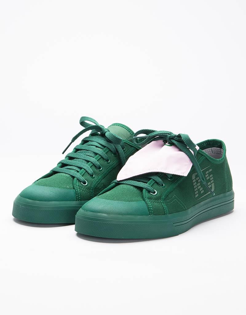 adidas RAF SIMONS Spirit Low Granite Dark Green/Dark Green/Pink