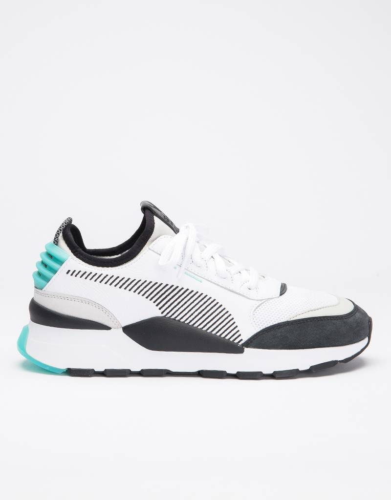 Puma RS-0 Invention White-Gray/Violet-Biscay Green