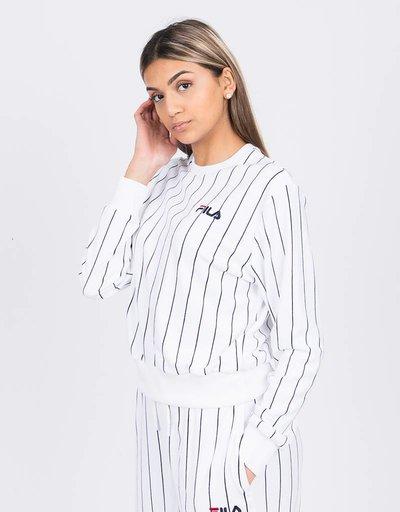 Fila Parker Pin Stripe Crew Sweatshirt