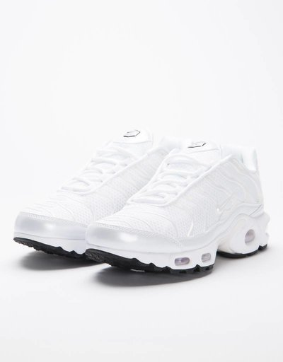 Nike Women's Air Max Plus Premium white/white-white-black