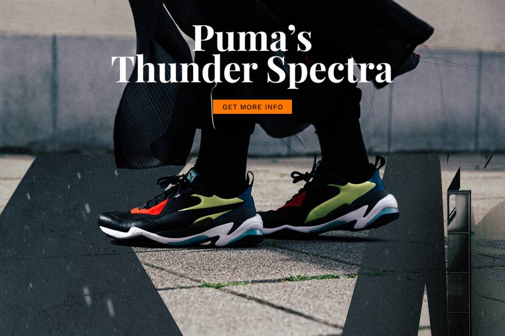 The long expected Puma Thunder Spectra