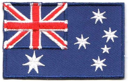 Flaggenpatch Australien