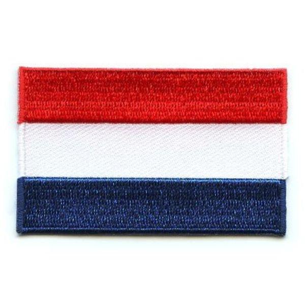 Niederländischer Flaggen-Patch