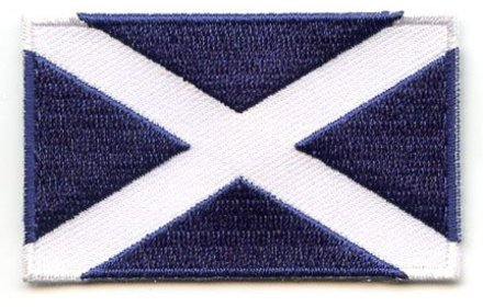 vlag patch Schotland