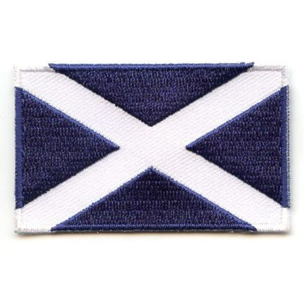 Schottland Flagge Patch