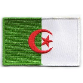 flag patch Algeria