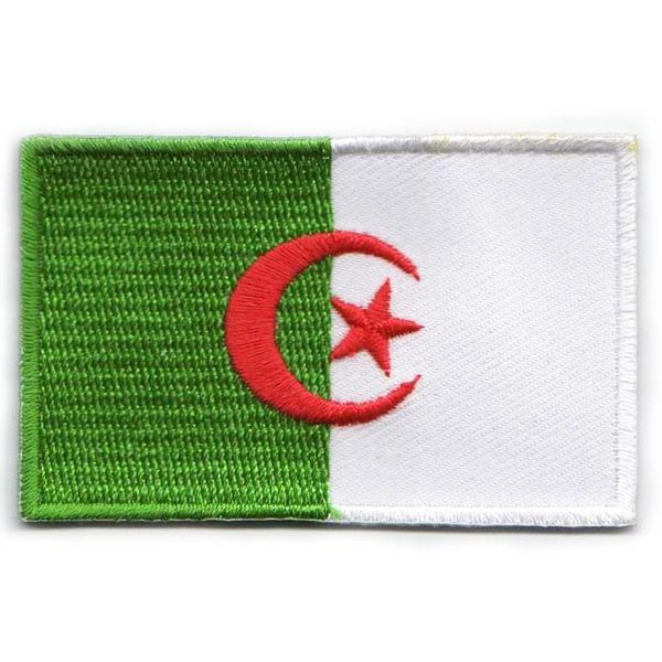BACKPACKFLAGS flag patch Algeria