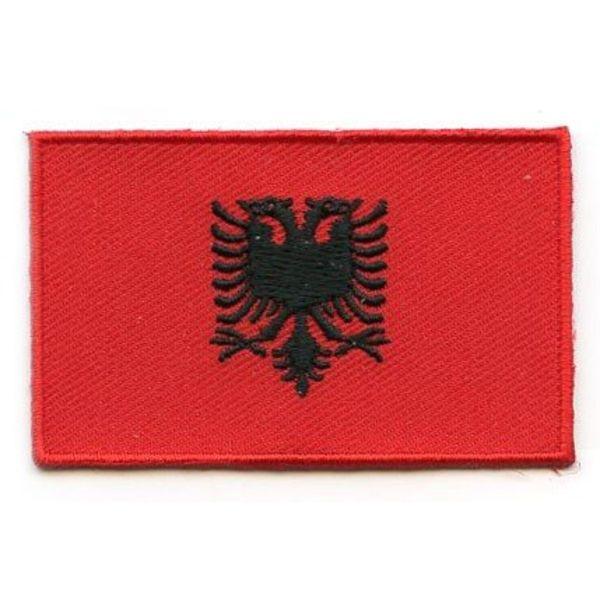 BACKPACKFLAGS flag patch Albania