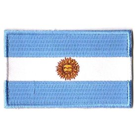 BACKPACKFLAGS flag patch Argentina
