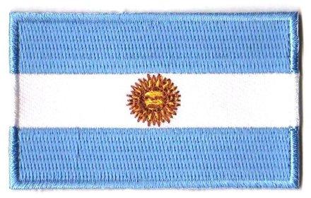 vlag patch Argentinië