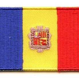 flag patch Andorra