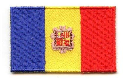 vlag patch Andorra